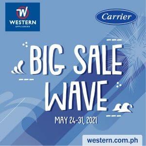 Western Appliances - Carrier Big Sale Wave