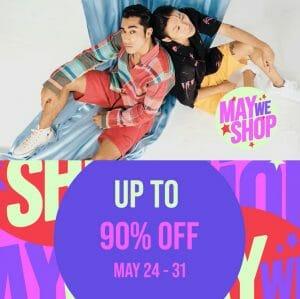 Zalora - MayWeShop Promo: Get Up to 90% Off