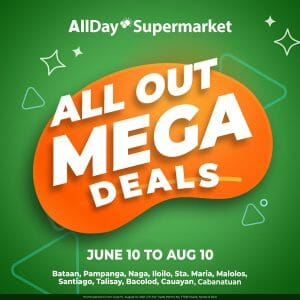 All Day Supermarket - All Out Mega Deals: Get Up to P200 Voucher