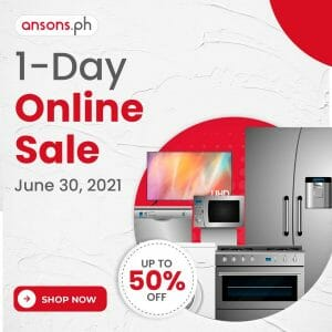Anson's - June 1-Day Online Sale: Get Up to 50% Off