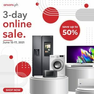 Anson's - 3-Day Online Sale: Save Up to 50%