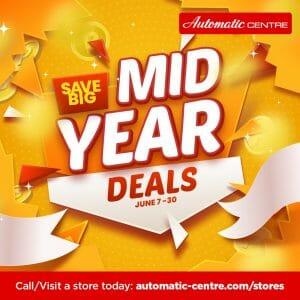 Automatic Centre Mid Year Deals Jun21