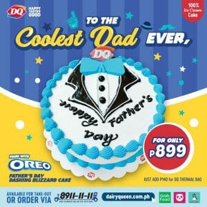 Dairy Queen - Father's Day Dashing Blizzard Cake for P899