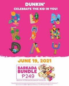 Dunkin Donuts - Dunkin Day: Barkada Bundle for P249