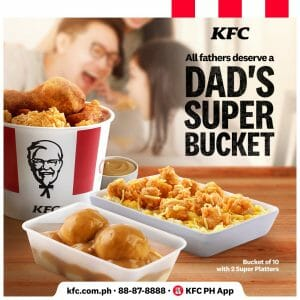 KFC - Dad's Super Bucket Meal Promo