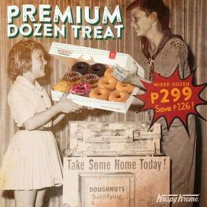 Krispy Kreme - June Premium Dozen Treat for P299 (Save P126)