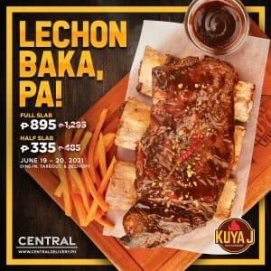 Kuya J Restaurant - Father's Day Lechon Baka Promo