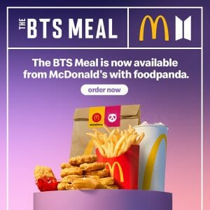 You Can Now Order The McDonald's BTS Meal via GrabFood and Foodpanda