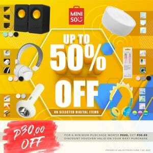 Miniso - Digital Sale: Get Up to 50% Off on Selected Digital Items