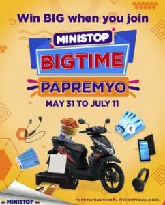 Ministop - Bigtime Papremyo Raffle Contest