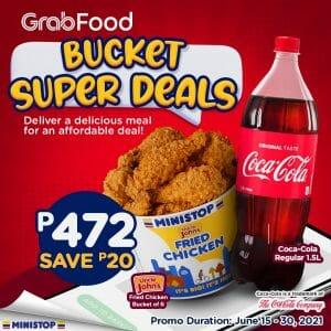 Ministop - Bucket Super Deals for P472 (Save P20) via GrabFood