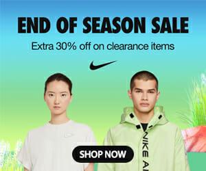 Nike End of Season Sale 2021