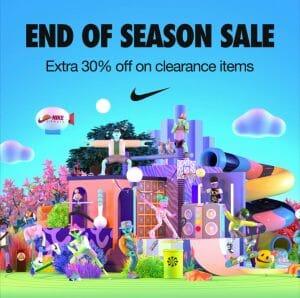 Nike End of Season Sale Jun21