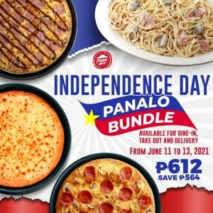 Pizza Hut - Independence Day Panalo Bundle for P612 (Save P564)