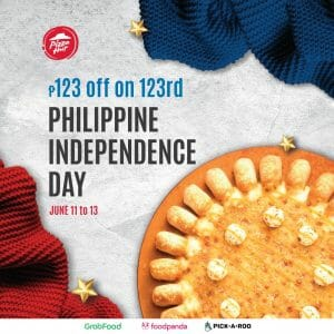 Pizza Hut - Get P123 Off on Large Pizzas
