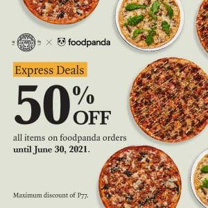 PizzaExpress - Express Deals: Get Max P77 Discount via Foodpanda