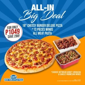 S&R - All-In Big Deal Promo for P1049 (Save P288)
