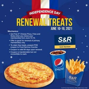 S&R - Independence Day Renewal Treats