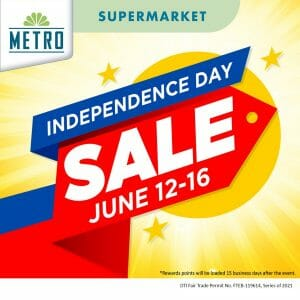 The Metro Supermarket - Independence Day Sale
