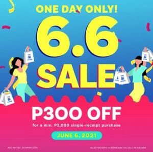The SM Store - 6.6 Deal: Get P300 Off