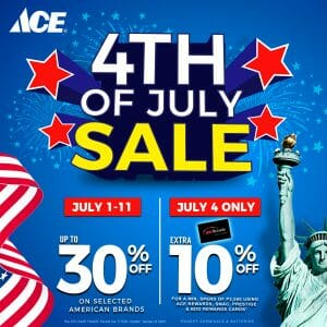 ACE Hardware - 4th of July Sale: Get Up to 30% Off