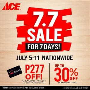 ACE Hardware - 7.7 Deal: Get Up to 30% Off on Selected Items