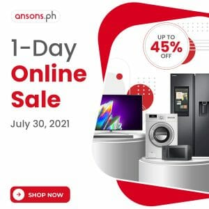Anson's - July 1-Day Online Sale: Get Up to 45% Off
