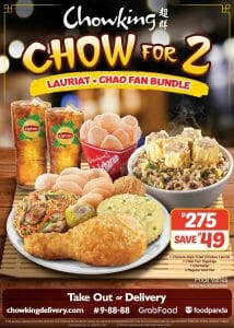 Chowking - Chow for 2 Bundle Promo