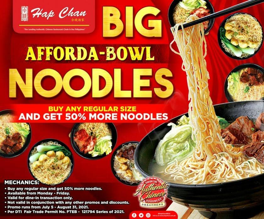 Hap Chan - Big Afforda-Bowl Noodles Promo