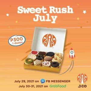 J.CO Donuts and Coffee - One Dozen Pre-Assorted Set for P300
