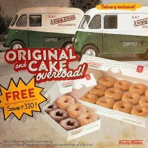 Krispy Kreme - Get FREE Pre-Assorted Box of 6 for Every OG Dozen or Double Dozen