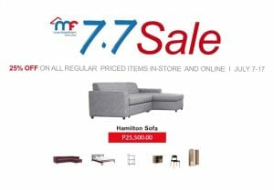 Mandaue Foam - 7.7 Deal: Get 25% Off on Regular Priced Items