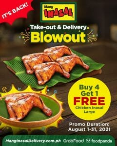 Mang Inasal - August Take-Out and Delivery Blowout