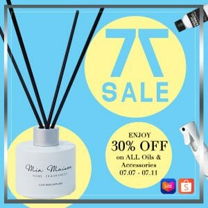 Mia Maison - 7.7 Deal: Get 30% Off on All Oils and Accessories
