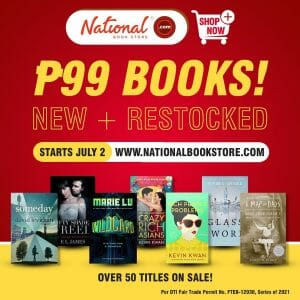 National Book Store - P99 Books Online Sale
