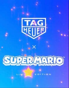 Priority Access Registration for the Tag Heuer X Super Mario Limited Edition