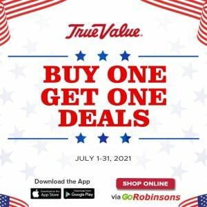True Value Hardware - Buy 1 Get 1 Deals via GoRobinsons