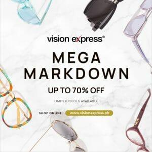 Vision Express - Mega Markdown: Get Up to 70% Off