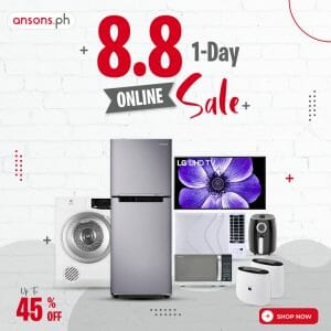 Anson's - 8.8 1-Day Online Sale: Get Up to 45% Off