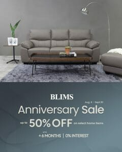 BLIMS - Anniversary Sale: Get Up to 50% Off