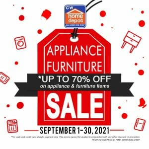 CW Home Depot - Appliance Furniture Sale: Get Up to 70% Off