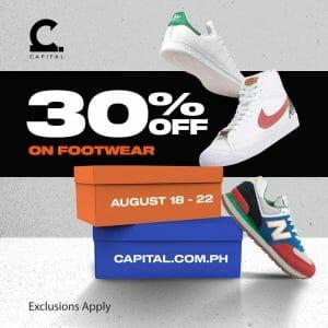 Capital PH - Get 30% Off on Footwear