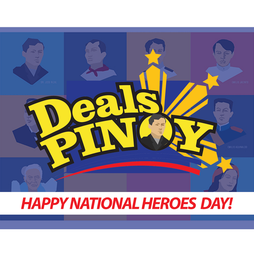 Happy National Heroes Day 2021 from Team Deals Pinoy!