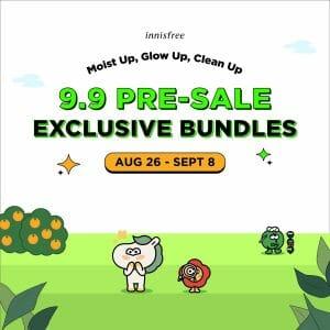 Innisfree - 9.9 Sale: Pre-Sale Exclusive Bundles via Lazada