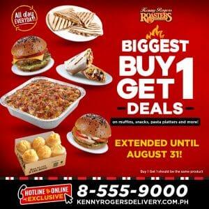 Kenny Rogers Roasters - Biggest Buy 1 Get 1 Deals Extended