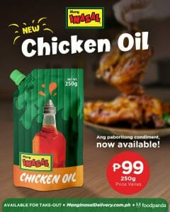 Mang Inasal - Chicken Oil for P99