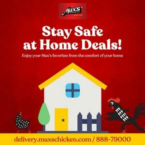 Max's Restaurant - Stay Safe at Home Deals