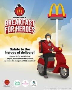 McDonald's - McDeliverback Breakfast for Heroes Promo