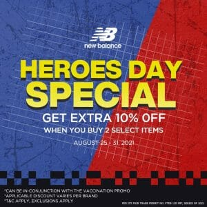 New Balance - Heroes Day Special: Get Extra 10% Off