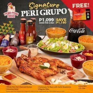 Peri-Peri Charcoal Chicken - Signature Peri Grupo SuperCard Promo